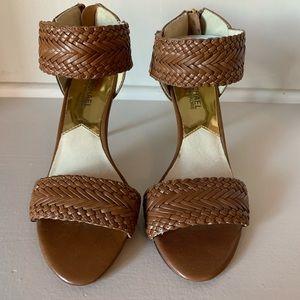 Michael Kors Braided Leather Heels